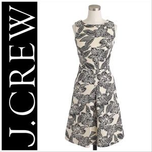 J. Crew Polynesian Dress with Cutout Back 🌺